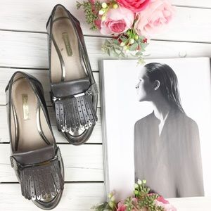 Louise et Cie Dahlian Kiltie Oxford Flat Loafers